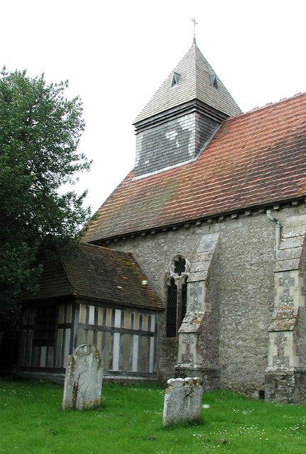 St Mary the Virgin, Orlestone, Kent