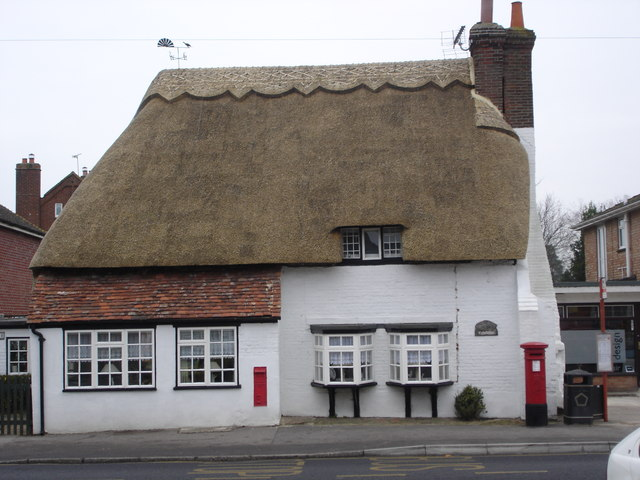 Newly thatched, Downton