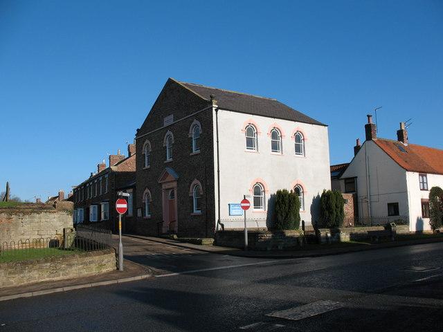 Methodist chapel Topcliffe