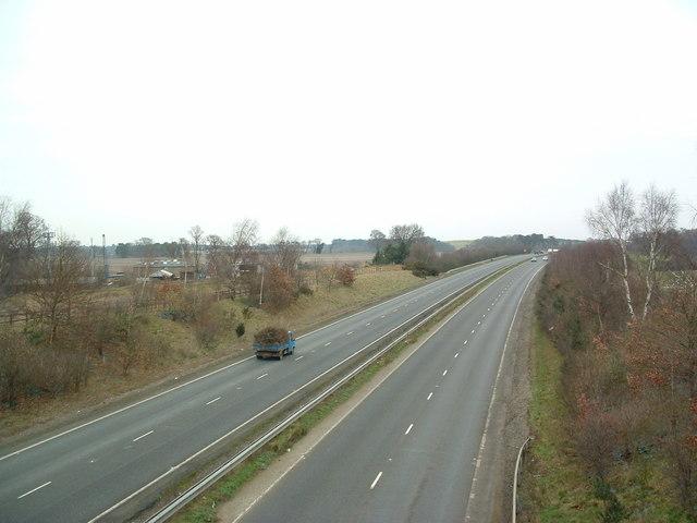 A12 Near Martlesham
