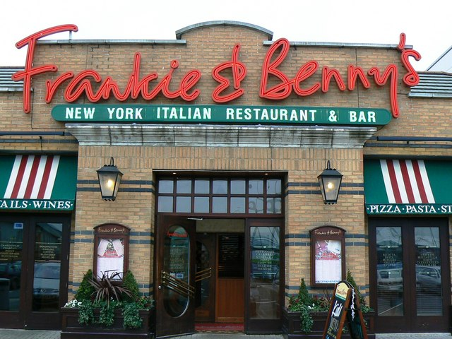 Frankie And Bennys Chelmsford Car Park