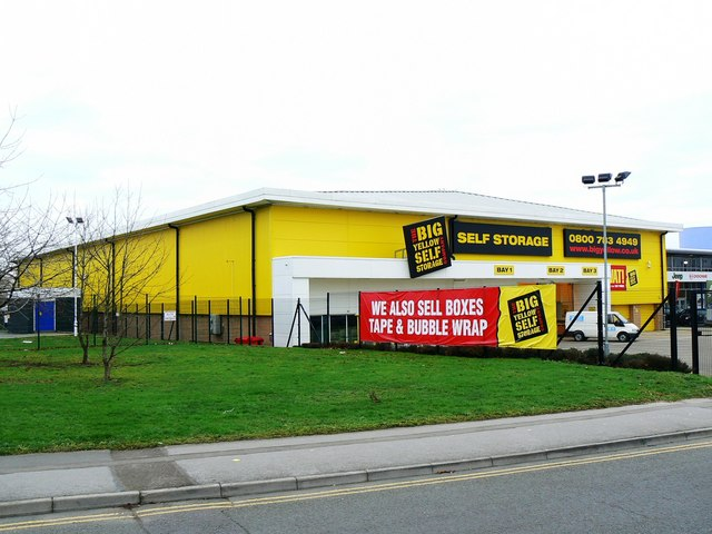 Big Yellow Self Storage Co. Drakes Way, Swindon
