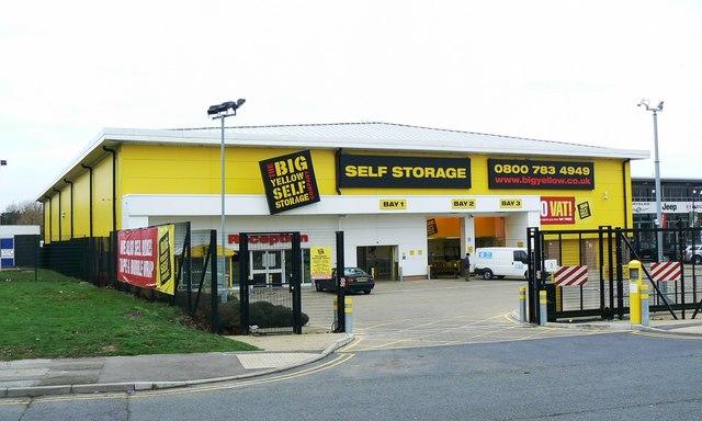 Big Yellow Self Storage Co. Drakes Way, Swindon (2)