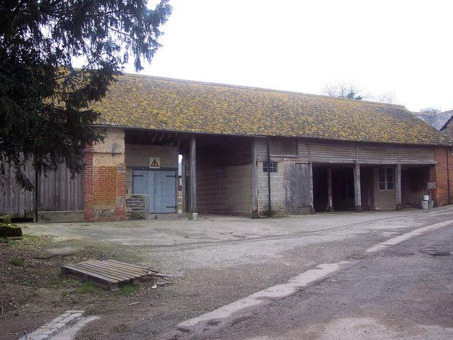 Buildings at Chalk Pyt Farm
