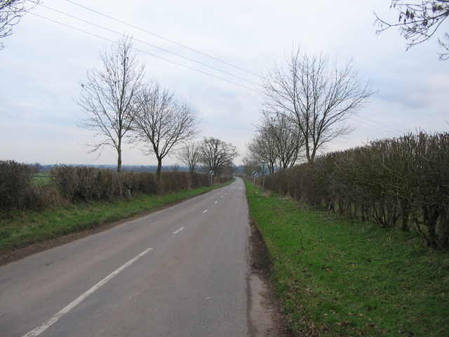 Lane from Dunkirk to Little Badminton