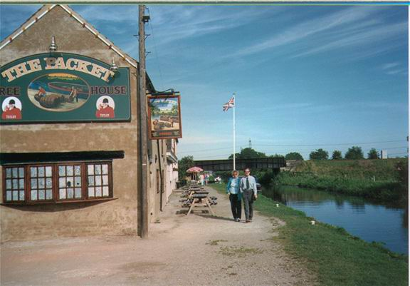 The Packet Inn at  Misterton