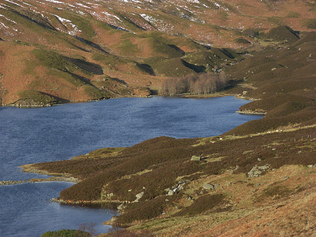 The head of Loch Turret