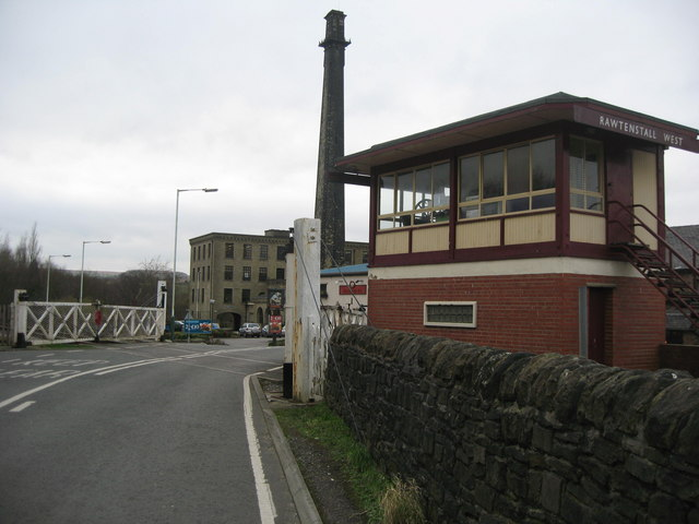 Rawtenstall West Level Crossing
