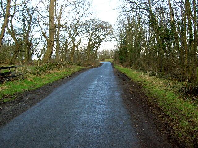 Minor Road Near Symington