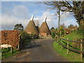 TQ6636 : Timberlog Oast, Mount Pleasant, Lamberhurst, Kent by Oast House Archive