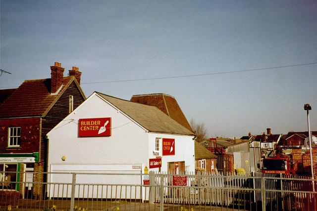 Oast House at Builders Yard, Station Road, Paddock Wood, Kent