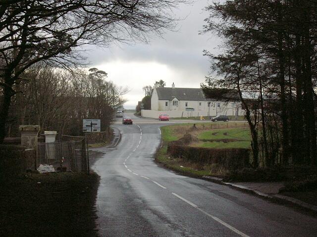 Junction at Bogend
