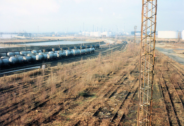 Shell Haven East Disused Sidings