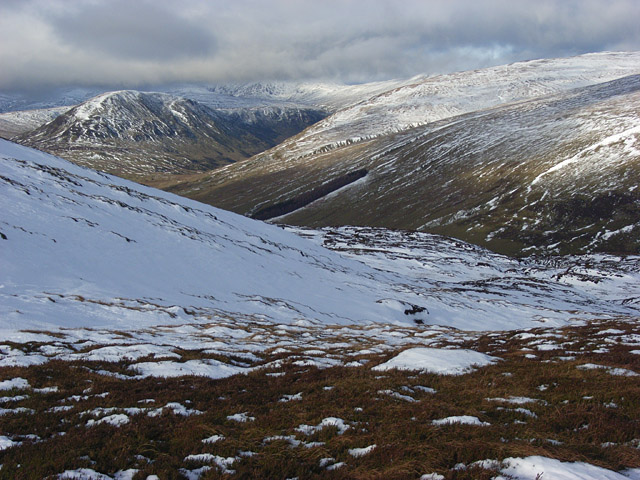 The slopes of Ben Chonzie