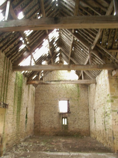 Interior of derelict barn 2