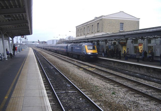 Swindon arrival