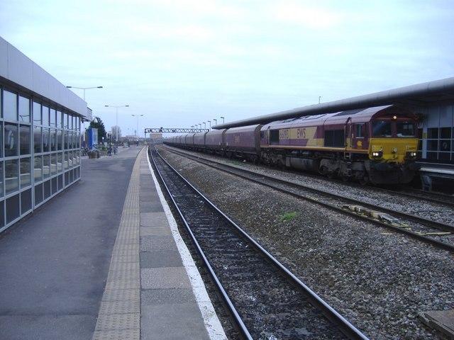 Freight train at Swindon