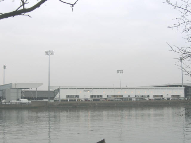 Craven Cottage from across the river