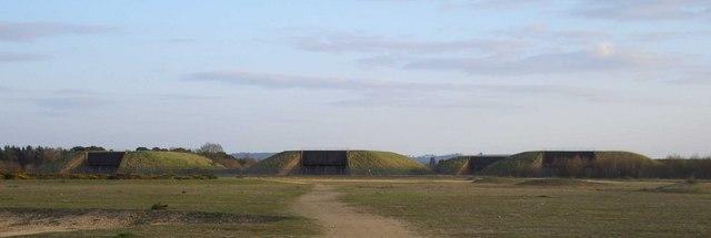 Greenham Common Bunkers
