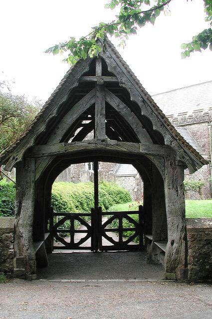 St Peter, Boughton Monchelsea, Kent - Lychgate
