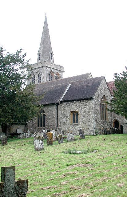 St Nicholas, Linton, Kent