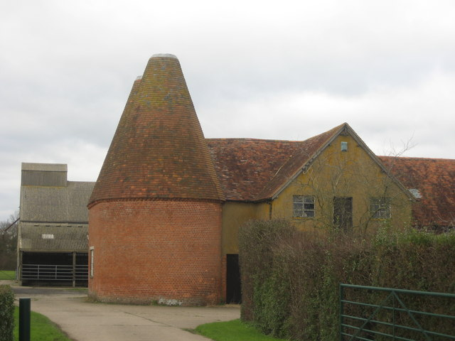 Oast House at Parsonage Farm, Cranbrook Road, Frittenden