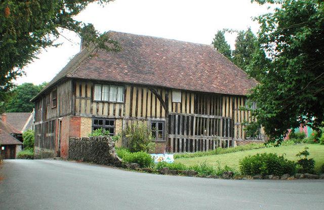 House near All Saints Church, Loose, Kent