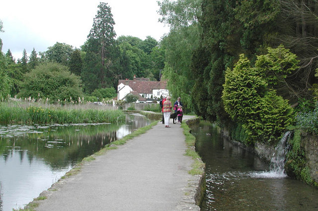 River walk, Loose, Kent