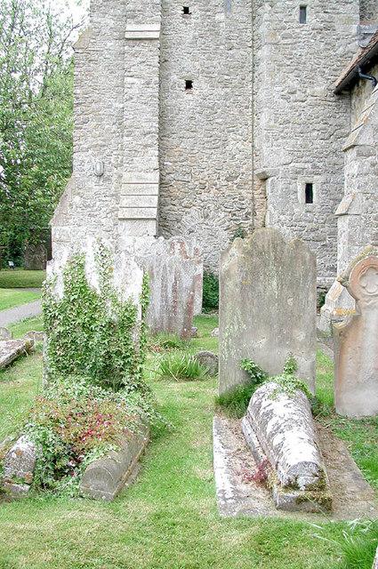 St Nicholas, Otham, Kent - Tombstones