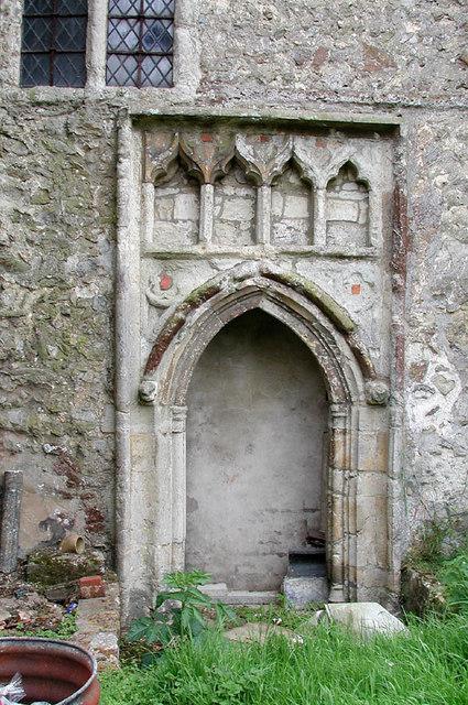 St Nicholas, Otham, Kent - Porch