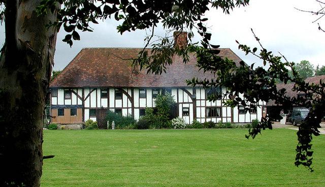 House next to Otham Church, Kent