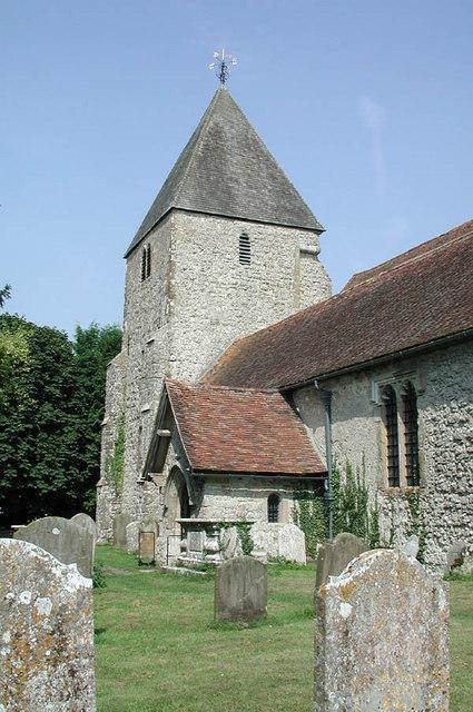 St John the Baptist, Mersham, Kent