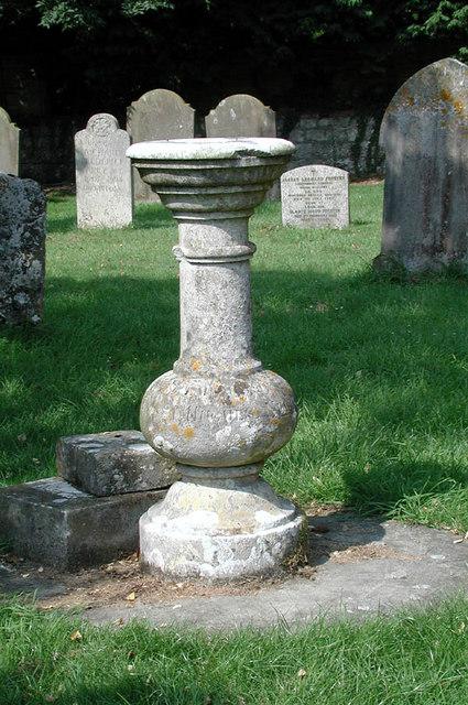 St John the Baptist, Mersham, Kent - Churchyard
