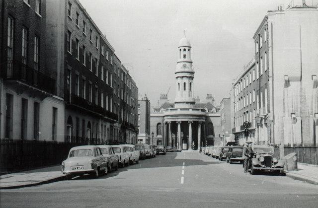 St. Mary's Church, Wyndham Place, W1 - c.1960