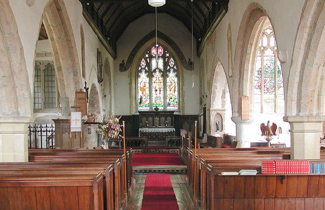 St Margaret, Hothfield, Kent - East end