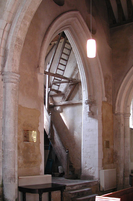 St Mary, Westwell, Kent - West arch