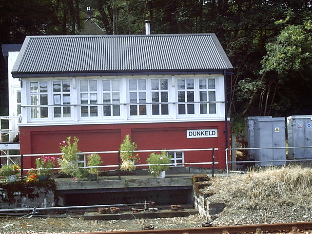 The Signalbox at Dunkeld