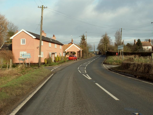 Crossroads on the A.1120