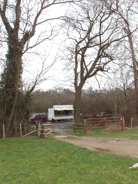Trailer snack bar in A40 layby