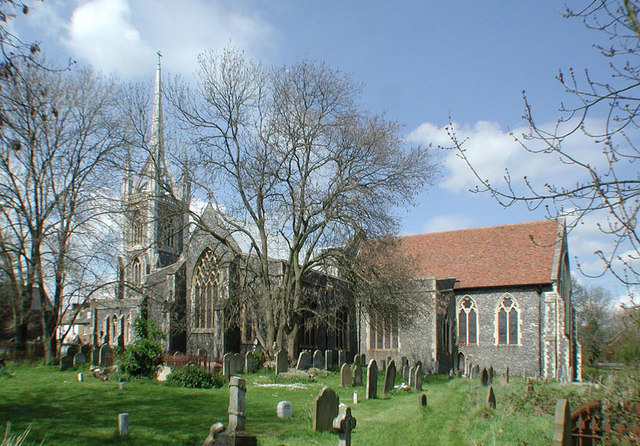 St Mary of Charity, Faversham, Kent