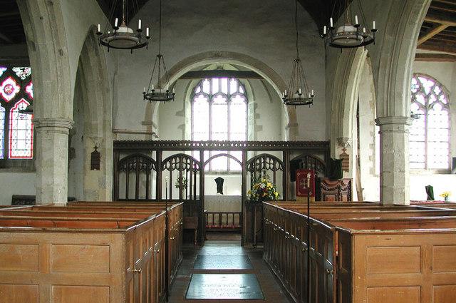 All Saints, Graveney, Kent - East end