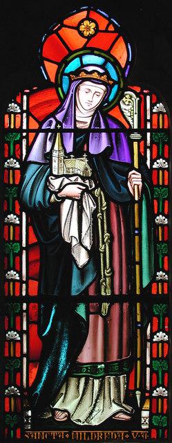St Mildred, Preston next Wingham, Kent - Window