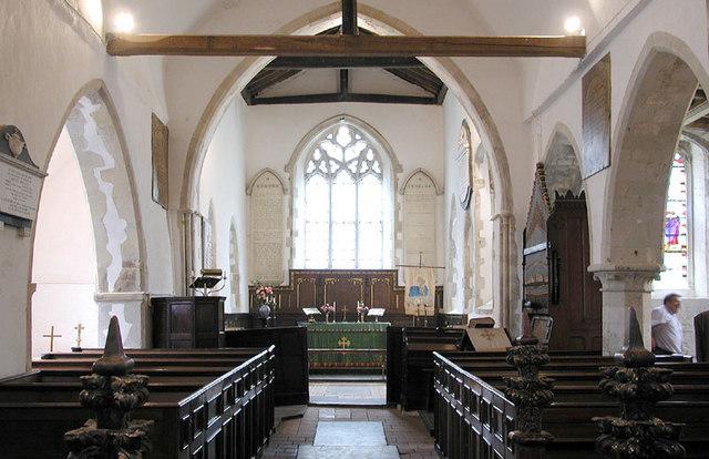 All Saints, West Stourmouth, Kent - East end