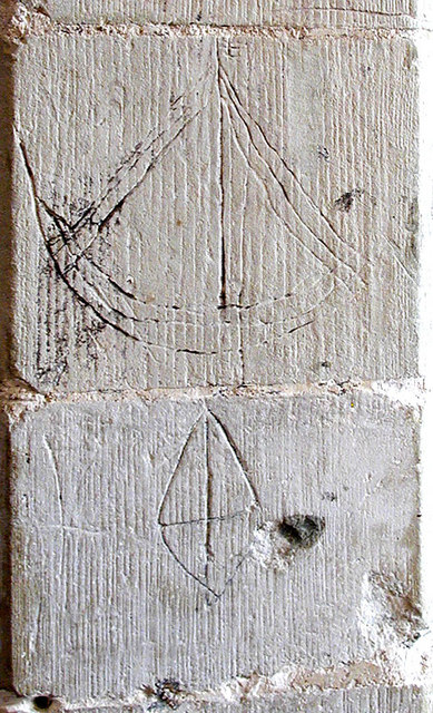 All Saints, West Stourmouth, Kent - Graffiti