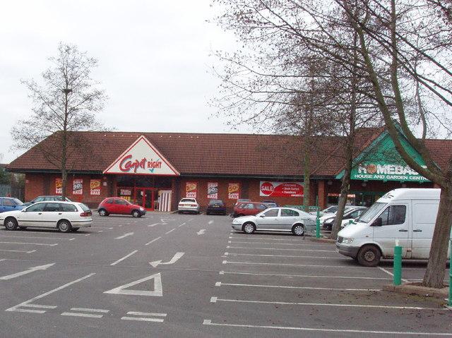 Retail Park at Cowley