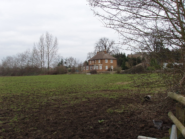 Field and houses, Forest Hill