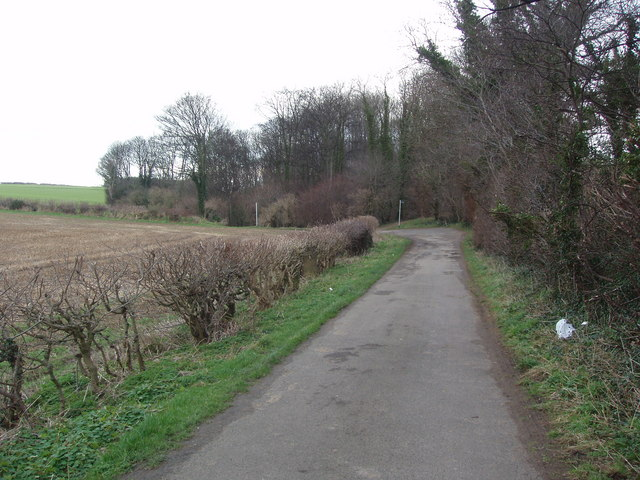Lane leading to Footpaths to Jackdaw Crags, Boston Spa