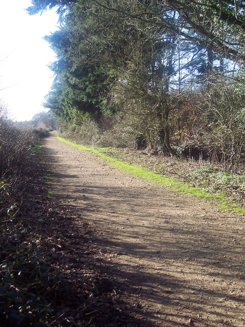 Footpath from Drove End Carpark