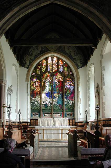 St Andrew, Wickhambreaux, Kent - Chancel