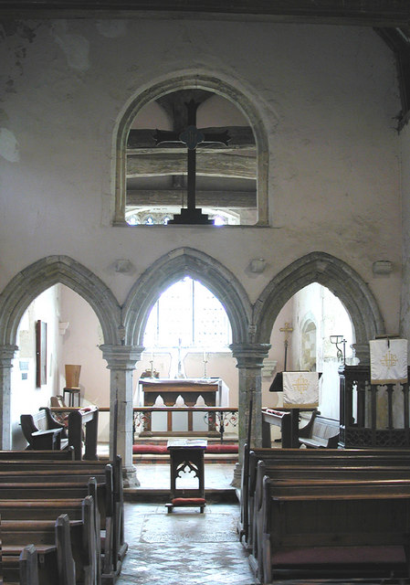 St Mary, Capel le Ferne, Kent - East end